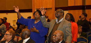 Photo: Worship at the Mid-Year Leadership Conference 2014.