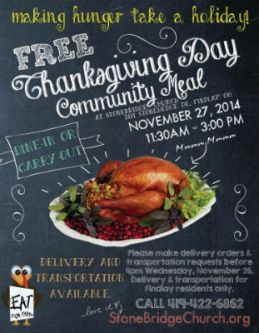 StoneBridge_thanksgiving_meal_sign_FORWBE